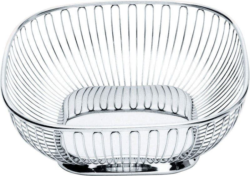 alessi classic square wire fruit bowl
