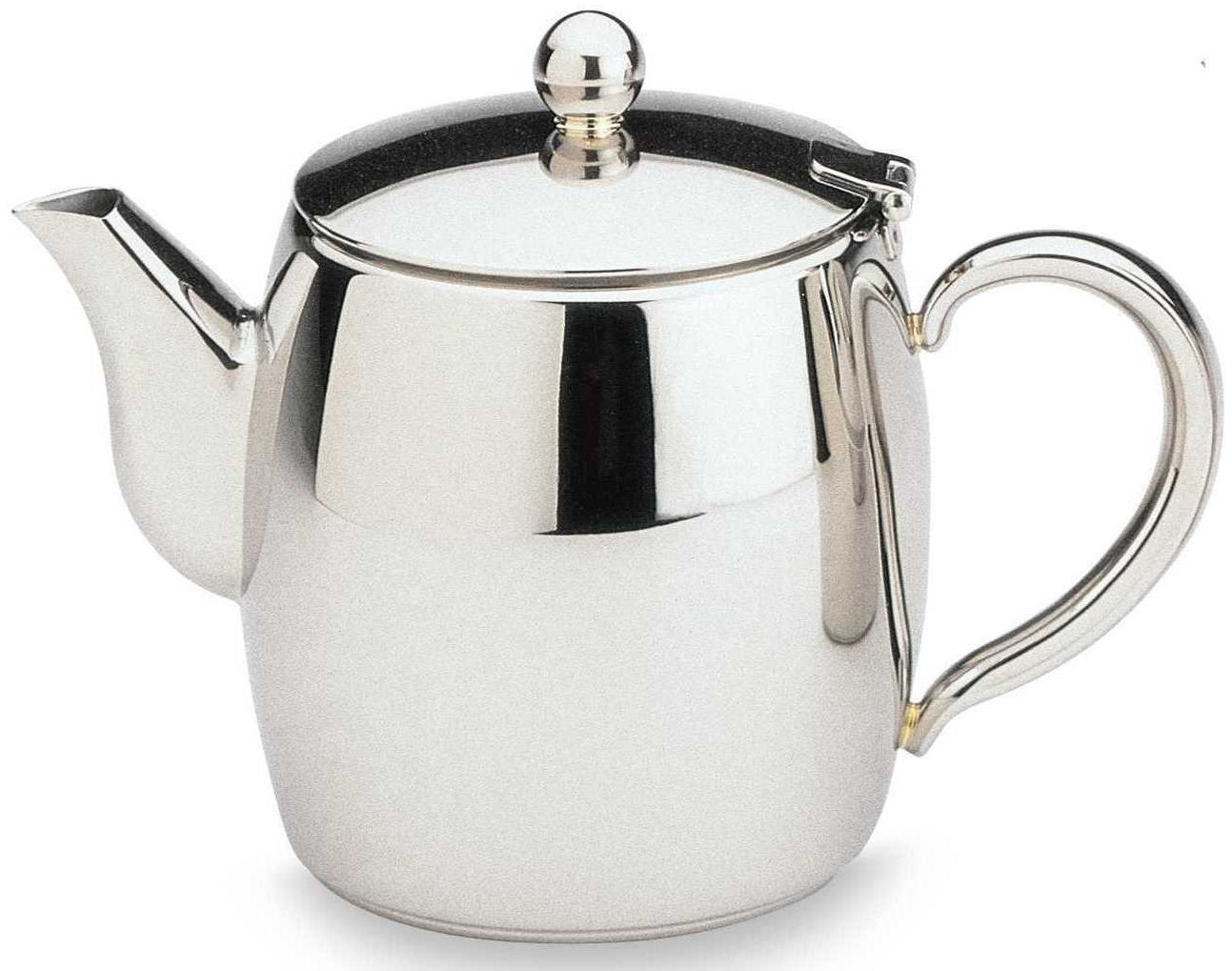 Bellux Stainless Steel Tea Pot Mirror Finished - 1L
