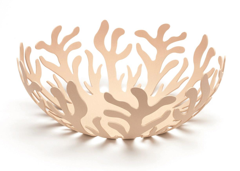 Alessi mediterraneo fruit bowl 29cm native biscuit - Alessi fruit bowl ...