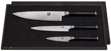 Kai Shun 3 Piece Knife Set