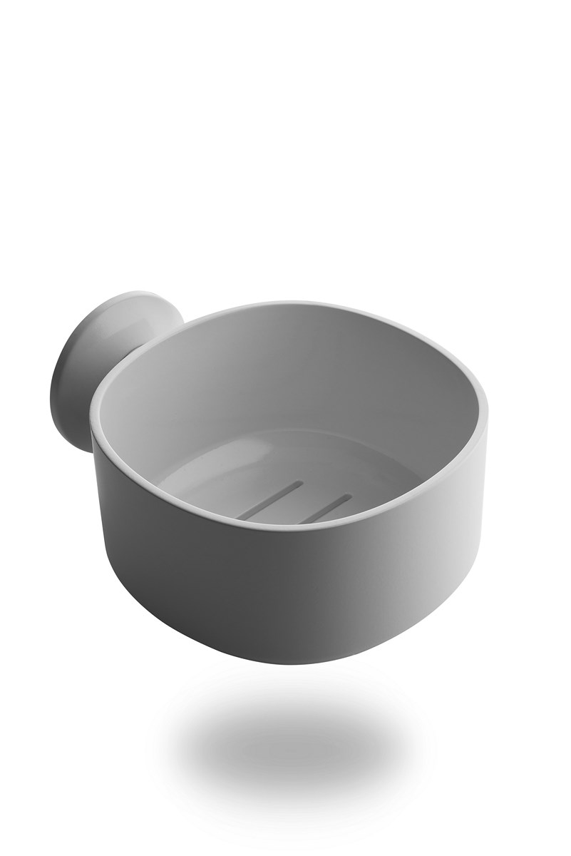 Alessi Birillo Bathroom Caddy with Suction Cup in White