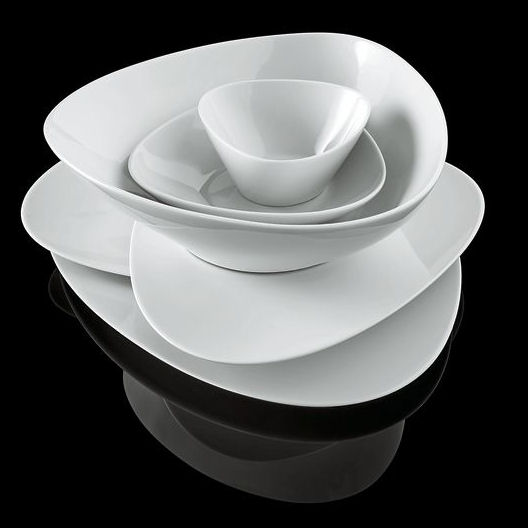 & Alessi Colombina Collection Set of 6 Side Plates