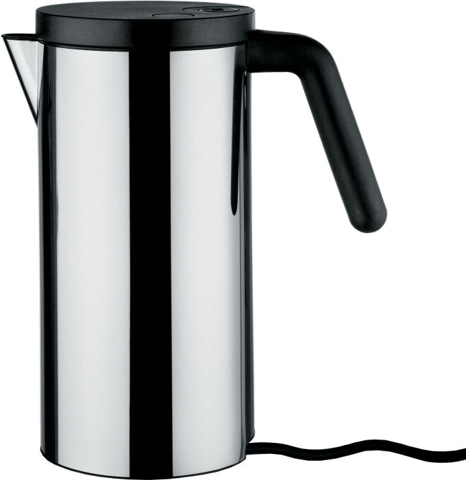 alessi electric kettle hot it in black. Black Bedroom Furniture Sets. Home Design Ideas