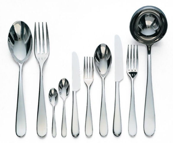 Alessi nuovo milano cutlery 24 piece monobloc set for 6 - Alessi dinnerware sets ...