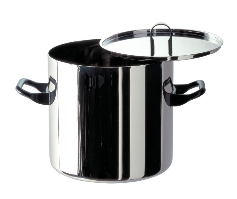 Alessi Sapper Stockpot 20cm With Lid Multi Ply By Richard