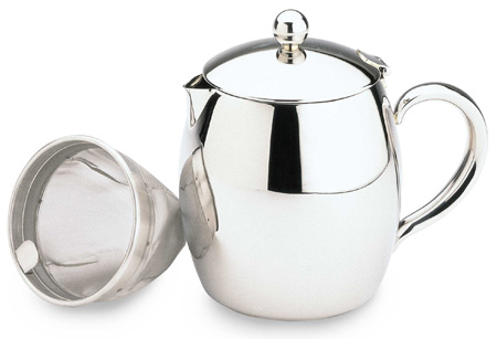 Bellux Insulated Teapot Stainless Steel 0 9l