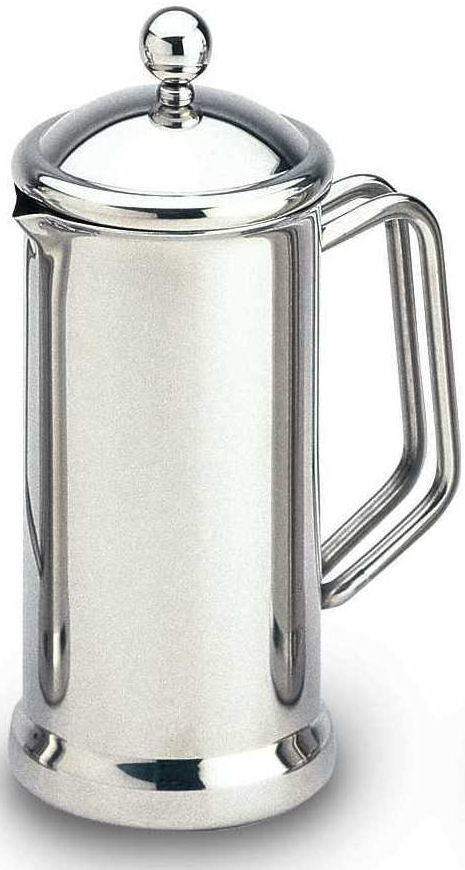 Cafe Stal Classic Stainless Steel Cafetiere 6 Cups