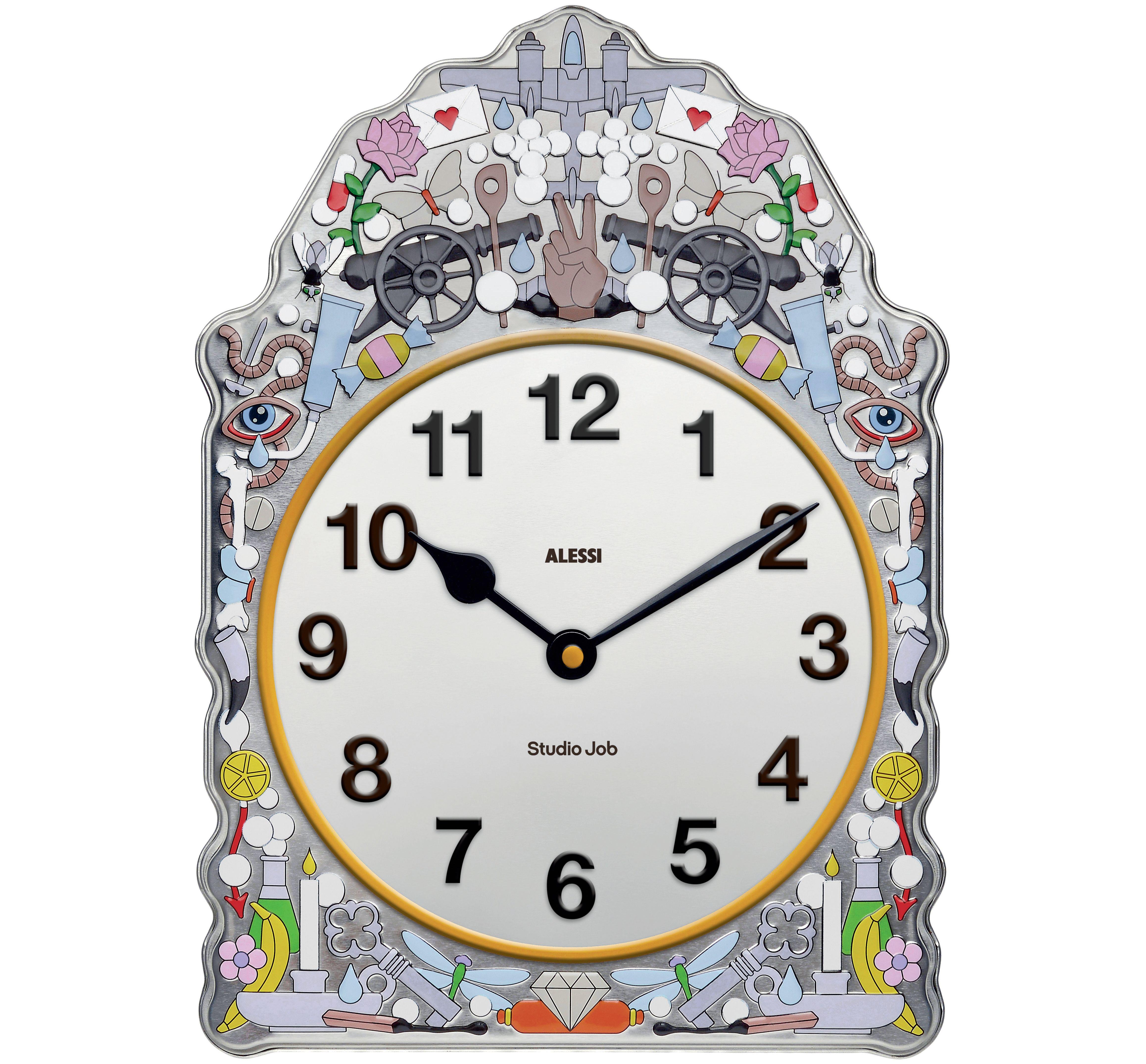 Alessi Cmtoise Clock