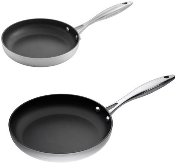 Scanpan Ctx Frying Pan Set 26cm And 20cm