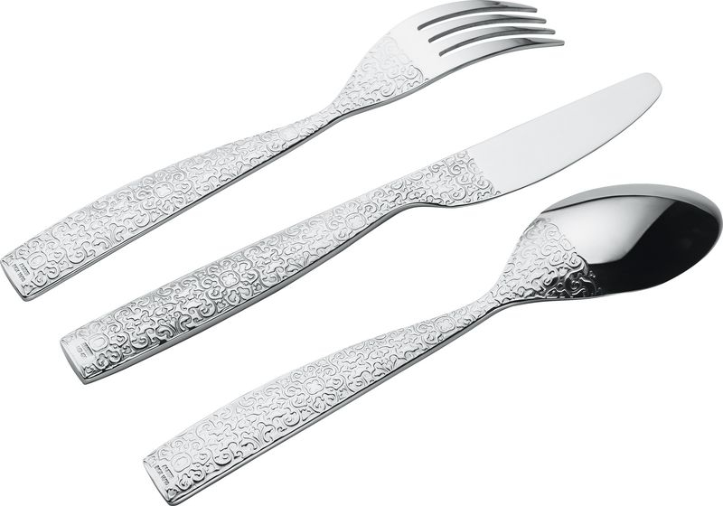 Alessi Dressed Cutlery 24 Piece Set For 6 Persons
