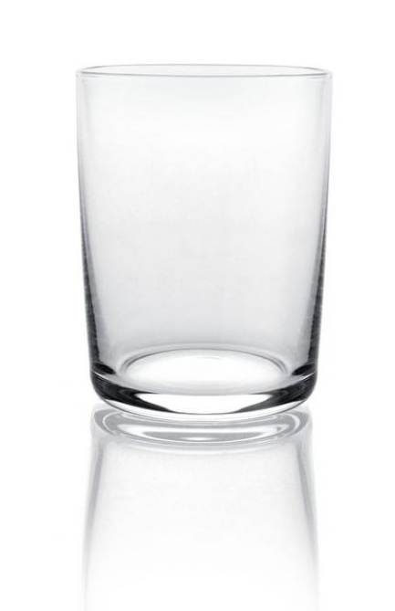 Alessi Glass Family Set Of 4 White Wine Glasses By