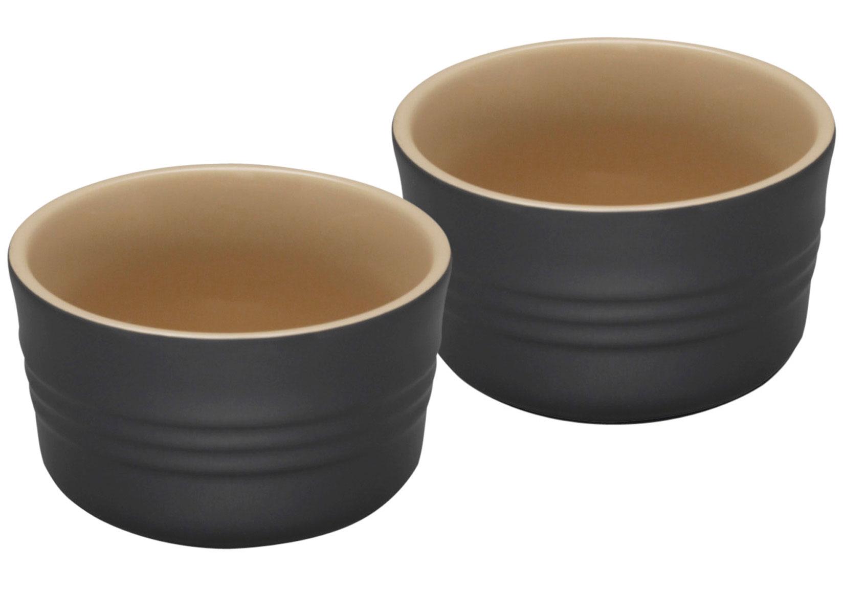 Le Creuset Ramekins - Black Stoneware