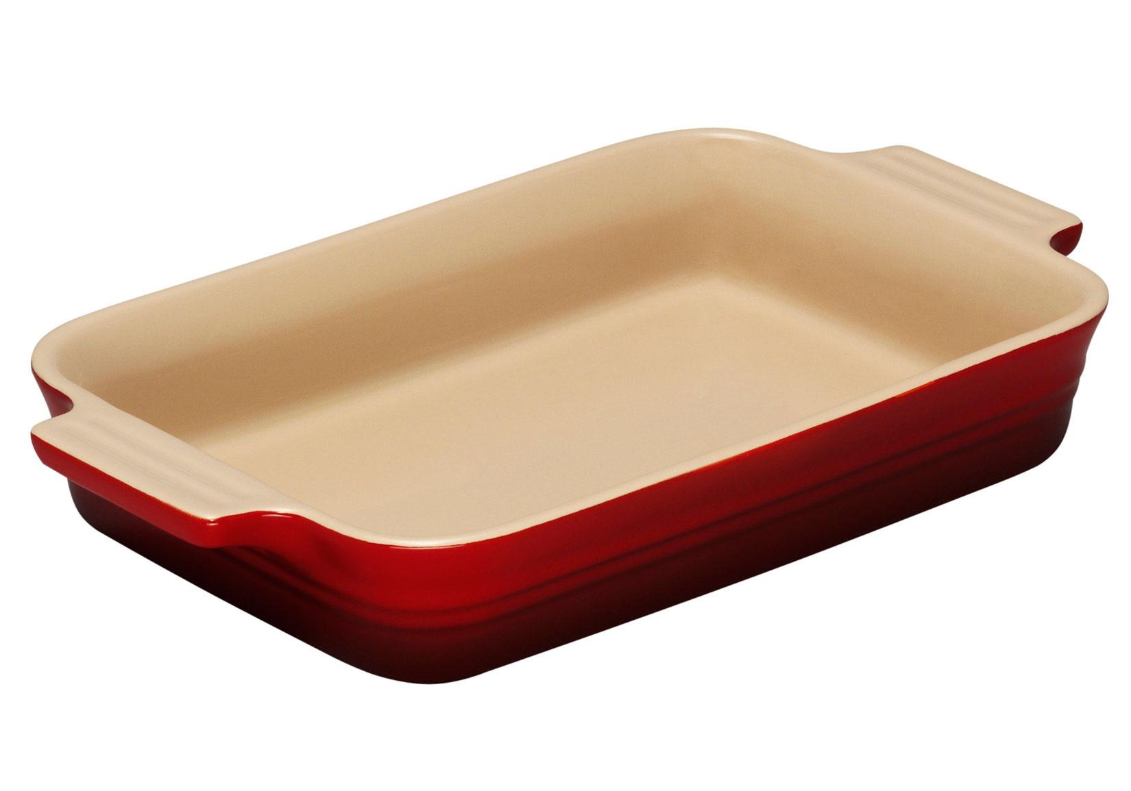 Le Creuset Rectangular Dish 26cm Cerise