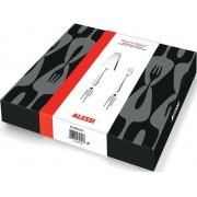 Alessi Nuovo Milano Set of Cake Server and 6 Pastry Forks