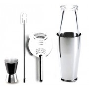 Alessi Boston Cocktail Shaker Set II - by Ettore Sottsass