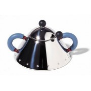 Alessi Sugar Bowl by Michael Graves - Blue