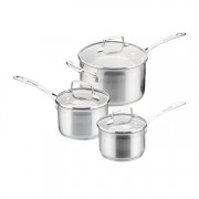 Scanpan Impact Saucepan Set, 3 Piece