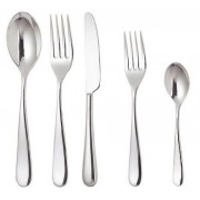 Alessi Nuovo Milano Cutlery - 5 Piece Monobloc Set for 1 Person