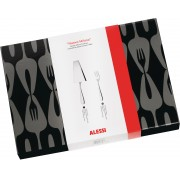 Alessi Nuovo Milano Set of Cake Server and 12 Pastry Forks